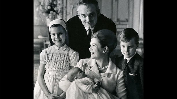 Grace Kelly and her family.