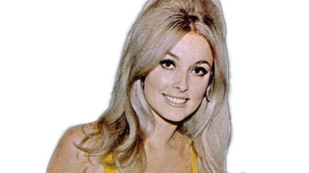 Actress Sharon Tate.