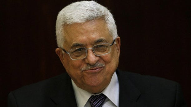May 11: Palestinian President Mahmoud Abbas smiles during a Palestinian Liberation Organization executive committee meeting in the West Bank city of Ramallah.