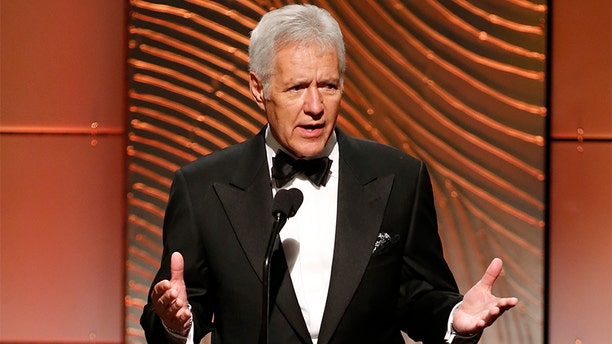 Alex Trebek during the 40th annual Daytime Emmy Awards in Beverly Hills, Calif., in 2013.