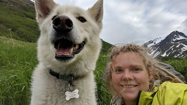 The Tennessee native is crediting the adventurous dog with saving her life.