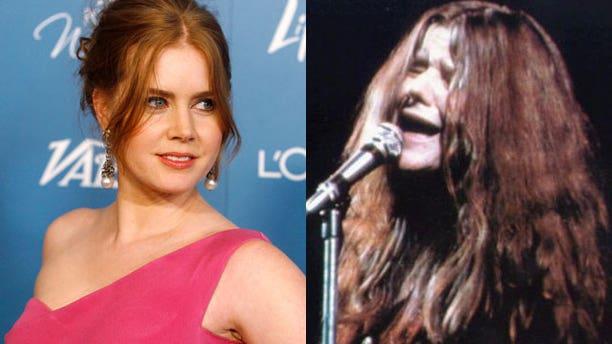 Amy Adams will play late music icon Janis Joplin.