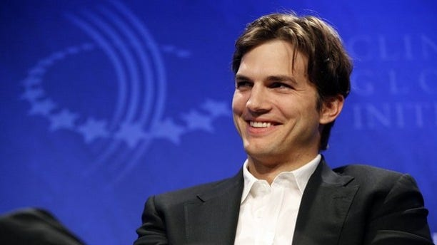 """Sept. 23, 2010: Actor Ashton Kutcher participates in a panel discussion titled """"Democracy and Voice: Technology For Citizen Empowerment and Human Rights,"""" at the Clinton Global Initiative in New York."""