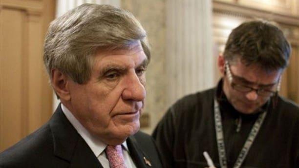 File: Sen. Ben Nelson talks to reporters in December 2009. (AP)