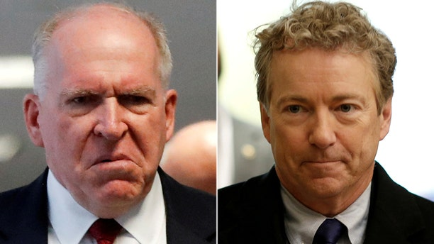Sen. Rand Paul called Monday for President Trump to revoke former CIA director John Brennan's security clearance.