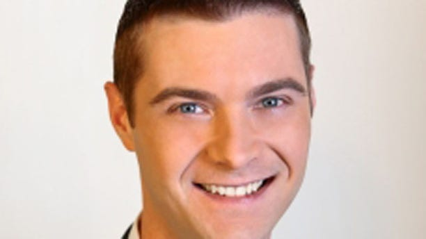 Brett Cummins, 33, is seen in a photo on the website  of Little Rock station KARK-TV. Cummins works as a meteorologist for the station.