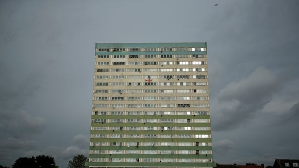 July 10, 2012: A general view shows the Fred Wigg Tower in Leytonstone, east London.