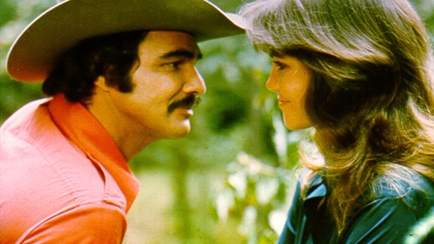 """Burt Reynolds and Sally Field in the 1977 film """"Smokey and the Bandit."""""""