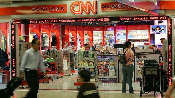 CNN has also invaded airports with shops and newsstands over the years.