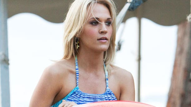 Carrie Underwood in an image from the film 'Soul Surfer.' (AP/Tristar)