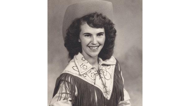 A young Wanda Jackson.