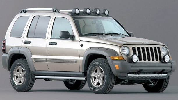 FILE - This undated file photo provided by Chrysler shows the 2005 Jeep Liberty Renegade.   The National Highway Traffic Safety Administration is accusing Chrysler of moving too slowly to fix some Jeep SUVs in a recall announced more than a year ago that included 2002-2007 Libertys .  (AP Photo/Chrysler, File)