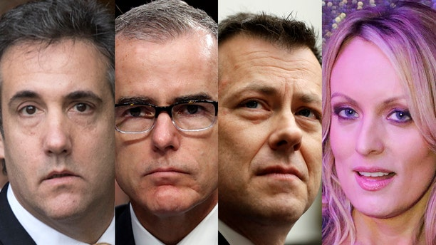 Former Trump attorney Michael Cohen, ex-FBI official Andrew McCabe, former FBI agent Peter Strzok and porn star Stormy Daniels have all set up online crowdfunding campaigns.