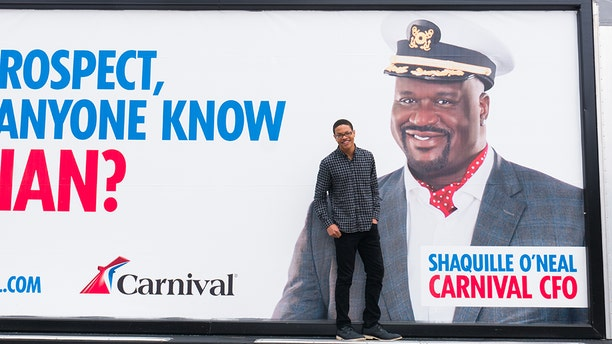 Darian Lipscomb will take his free cruise from Carnival on Saturday, March 31, 2018.