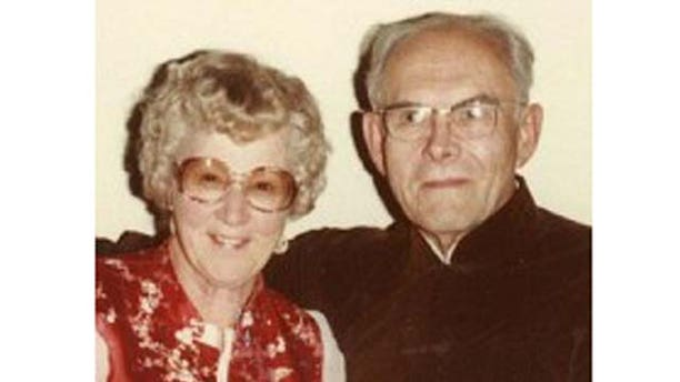 Edythe and her husband Joe. Courtesy photo.