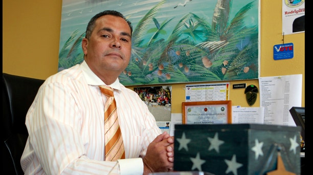 Retired police officer Hector Rodriquez, a longtime Republican, is moderate enough to have cast votes for Democratic Presidents Bill Clinton and Barack Obama. A native of Puerto Rico, Rodriguez is undecided this go-round.