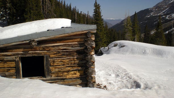 April 6: As many as six cows remain that froze to death at the Conundrum Creek Cabin near Aspen.