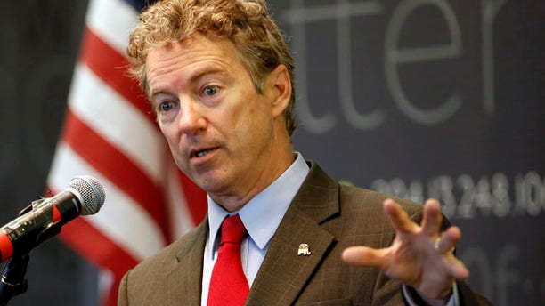 March 20, 2015: Sen., Rand Paul, R-Ky. speaks in Manchester, N.H.