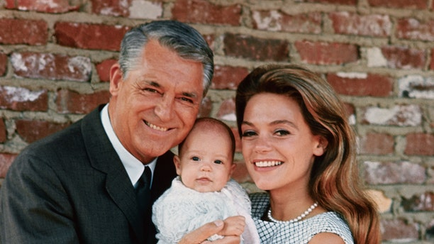 Cary Grant and his then-wife Dyan Cannon with their daughter Jennifer Grant.