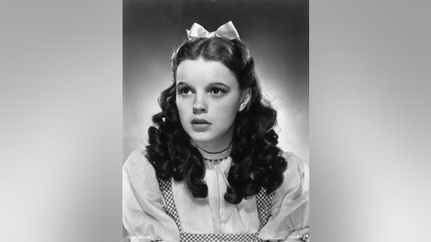 """Judy Garland in """"The Wizard of Oz."""""""