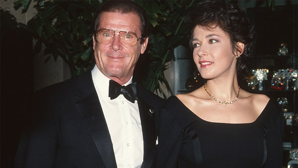 Roger Moore never lost his charm, according to his eldest child Deborah Moore (pictured) — not even when he was battling cancer.