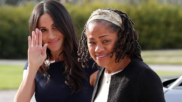 Meghan Markle with her mother Doria Ragland.