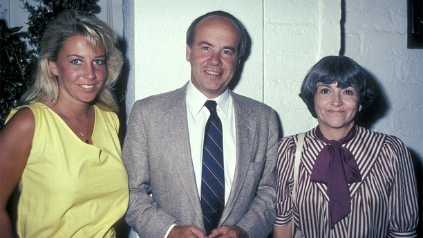 Actor Tim Conway, wife Charlene Fusco and daughter Kelly Conway being photographed on Aug. 9, 1983 at Chasen's Restaurant in Beverly Hills, Calif.