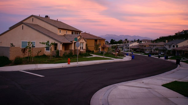 SAN BERNARDINO, CA - MAY 15:  Recently built homes are seen in suburban neighborhoods under construction on top of the San Andreas Rift Zone, the system of depressions in the ground between the parallel faults of the San Andreas earthquake fault, on May 15, 2008 in the community of Highland, east of San Bernardino, California. New calculations reveal a 99.7 percent chance that a magnitude 6.7 quake or larger will strike by 2037, according to the first-ever statewide temblor forecast released by the scientists of the United States Geological (USGS), Southern California Earthquake Center and California Geological Survey last month. Scientists have particular concern for the people living along the southern portion of the 800-mile-long San Andreas Fault east of Los Angeles. This section of the fault has had very little slippage for more than 300 years and has built up immense pressure that could release an earthquake of historic proportions at any time. Such a quake could produce a sudden lateral movement of 23 to 32 feet and be would be among the largest ever recorded. Experts have predicted that a quake of magnitude-7.6 or greater on the southern San Andreas would kill thousands of people and cause many billions of dollars in damages, dwarfing the 1994 Northridge disaster near Los Angeles that killed 72 people, injured more than 9,000 and caused $25 billion in damage.  (Photo by David McNew/Getty Images)