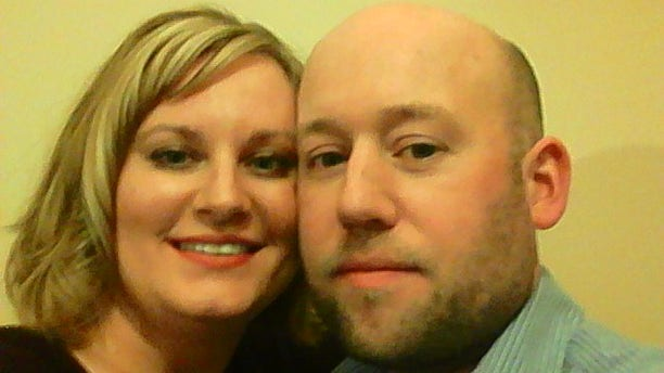 Lisa Heine, and her husband, Bryan, used GoFundMe.com to raise money to pay for an egg donor. (Image courtesy of Lisa Heine)