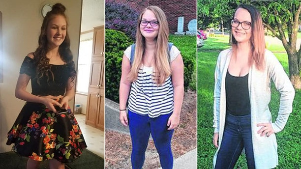 Nevaeh Law, Brittany Watson and Jenna Helton were among four teenagers killed in the crash on Saturday.