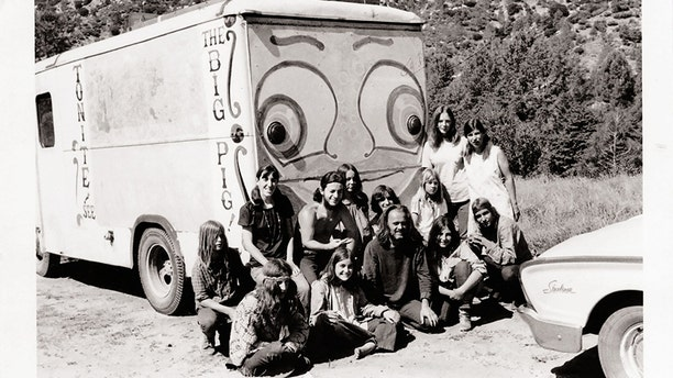 """""""This is the bread truck that my family drove around in when we dropped out."""""""