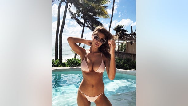 """GUESS Girl and former Carl's Jr. star Kara Del Toro wasn't shy about letting the world know she's one proud sun worshipper. For more photos of Del Toro, visit <a data-cke-saved-href=""""https://hollywoodlife.com"""" href=""""https://hollywoodlife.com"""">HollywoodLife.com</a>."""