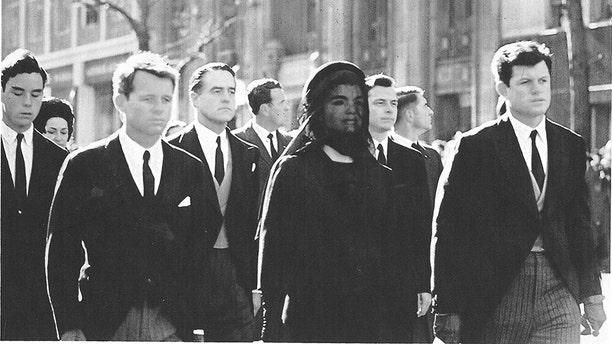 JFK Funeral procession.