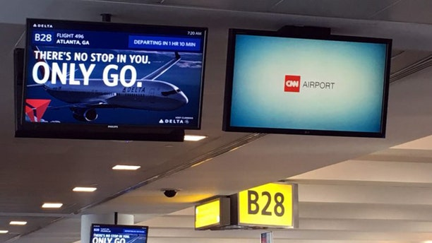 Millions of travelers are forced to watch CNN content at airports across America.