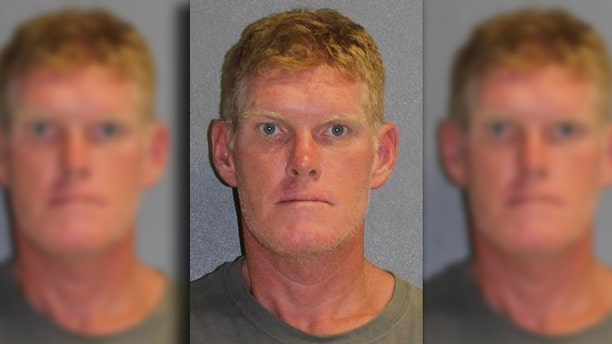 Jason Braun, 41, was arrested last week after a DNA test pinned him to the scene of a robbery.