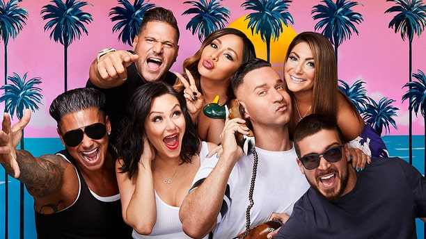 """The cast of the hit MTV reality show """"Jersey Shore: Family Vacation."""""""