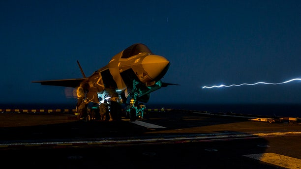 The F-35 fighter jet conducted a combat airstrike for the first time last month.