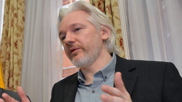 Aug. 18, 2014 - FILE photo of WikiLeaks founder Julian Assange at a news conference inside the Ecuadorian Embassy in London. Sweden's highest court on Monday rejected Assange's appeal of a pre-trial detention order in a nearly five-year-old investigation of alleged sex crimes.