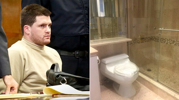 James Rackover is accused of murdering a party guest in an NYC apartment and trying to dismember him in the bathroom.