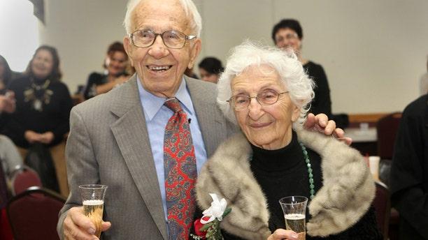 Nov. 25: John and Ann Betar celebrate their 80th anniversary at St. Nicholas Antiochian Orthodox Church, in Bridgeport, Conn.