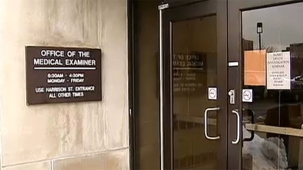 The Medical Examiner's Office in Cook County, Illinois.