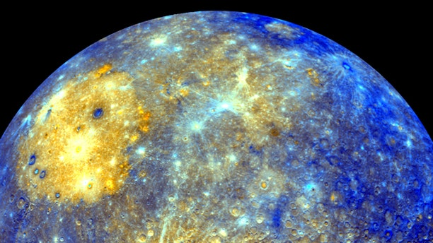 This image released by NASA shows an enhanced photo image of Mercury from its Messenger probes 2008 flyby of the planet. NASA says it was a taste of pictures likely to come after March 17, 2011, when the probe enters Mercurys orbit. This photo shows the eastern part of the smallest and closest planet in our solar system.