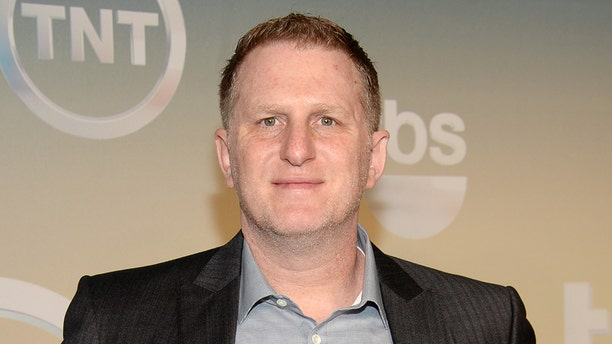 Michael Rapaport pose backstage at the TNT and TBS Network 2014 Upfront Presentations at Madison Square Garden on Wednesday, May 14, 2014, in New York. (Photo by Evan Agostini/Invision/AP)