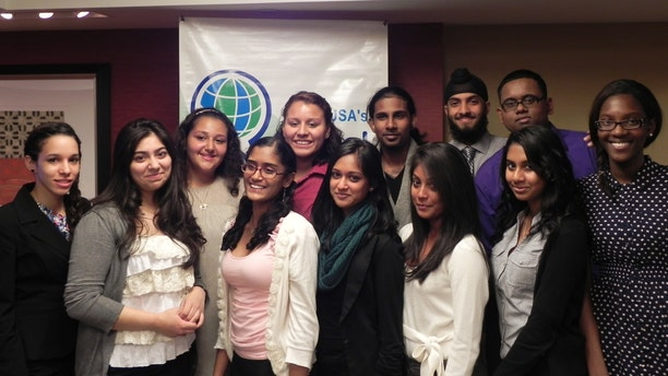 Model United Nations class from John Adams High School featured in the new documentary called Decorum.