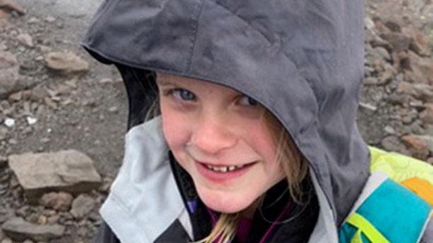Despite snow and rain through their entire hike, Montannah never complained.