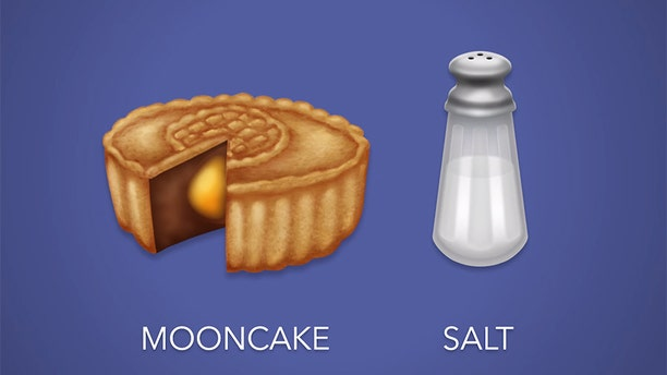 A mooncake and salt shaker emoji are also set to launch in June 2018.