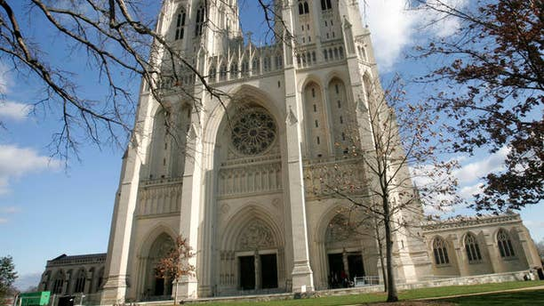 The National Cathedral in Washington.