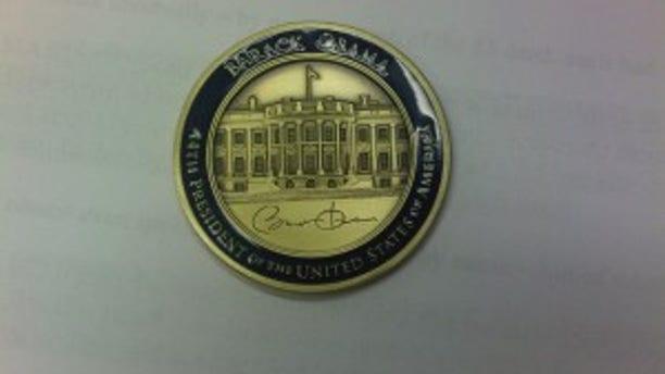 President Obama's Challenge Coin
