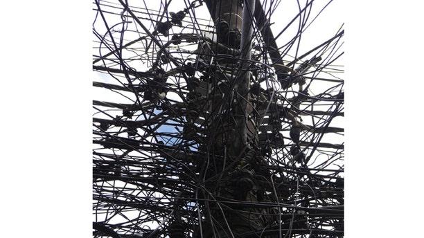 Part of Rio de Janeiro's energy distribution grid.