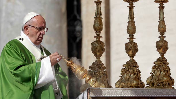 Pope Francis at the Vatican, Sunday, Sept. 25, 2016.